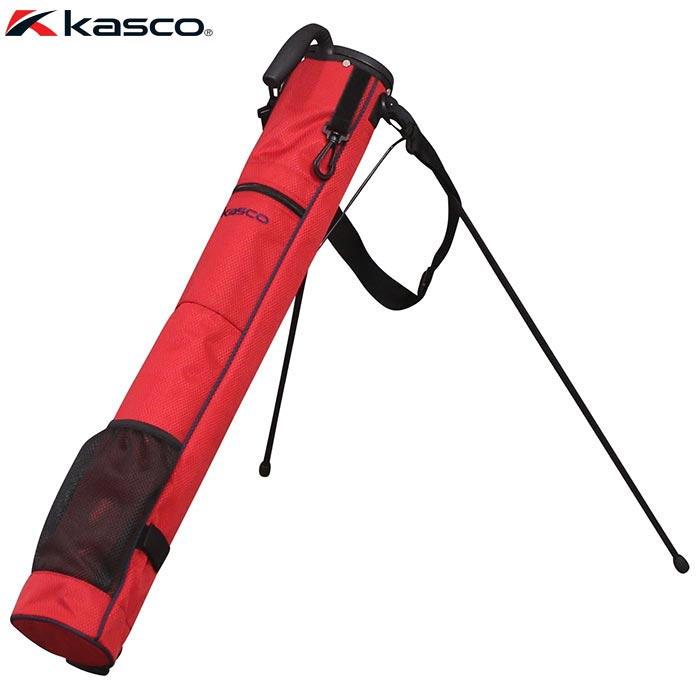 ゴルフバッグ・小物 【kasco クラブバッグ】 キャスコ スタンド式 ラウンドバッグ クラブケース KST-030RB レッド/ネイビー 【あす楽対応】