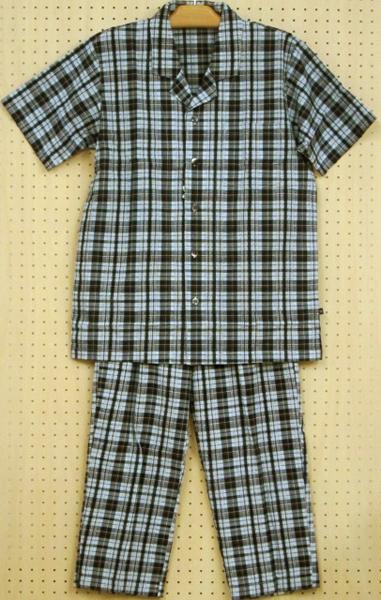 【ワコール】~先染めドビーサッカーチェック~メンズパジャマ