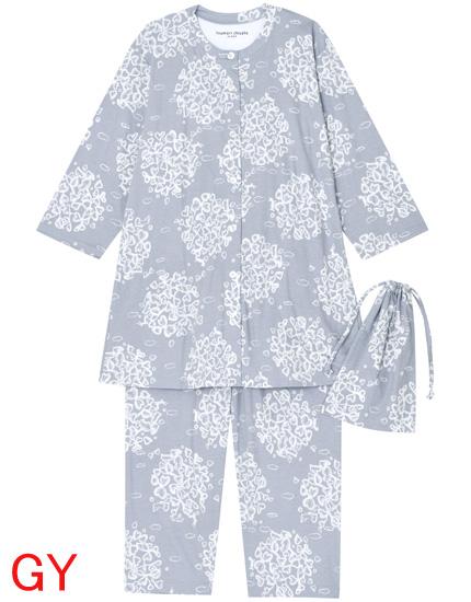 【tsumori chisato sleep】ツモリチサト~スムースシルケットバイオptサークルリーフ~パジャマ