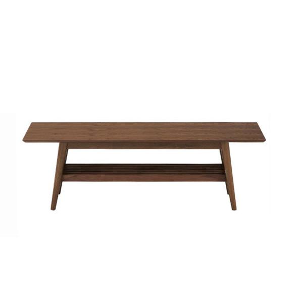 【送料無料】ウォールナットを使用したお洒落なテーブルリビングテーブル/木製テーブル/センターテーブル/emo/EMT-2214BR-Ichi 代引き不可商品