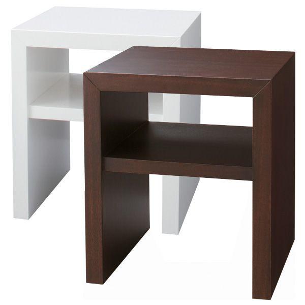ナイトテーブル シンプルなデザインで幅40cmのコンパクトな サイドテーブル//コーヒーテーブル/ミニテーブル/BA-30