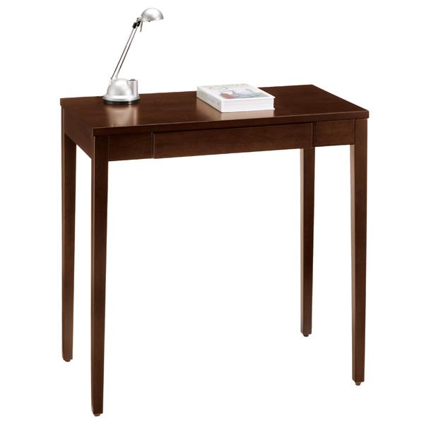 【 送料無料 】幅70cmでコンパクトサイズのシンプルな木製 デスクシェルト0507BR
