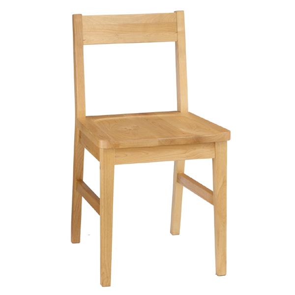 天然木を使用したナチュラル色のお洒落な木製チェアー 木製椅子 デスクチェア セレス412 チェアー 送料無料