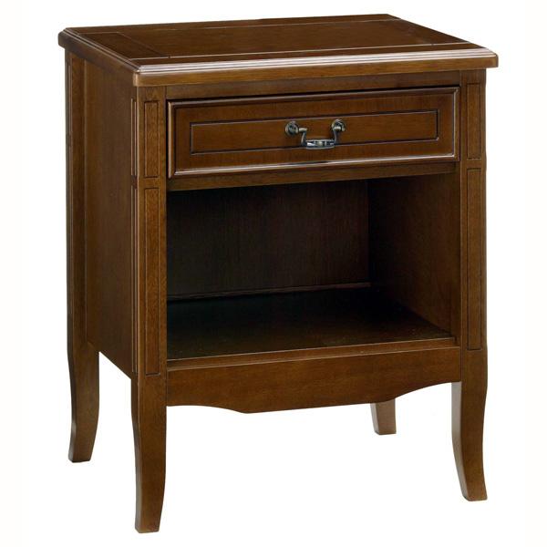 代引き不可商品 ナイトテーブル アンティーク調で品格を感じるお洒落な サイドテーブル テーブル サポーレ2312