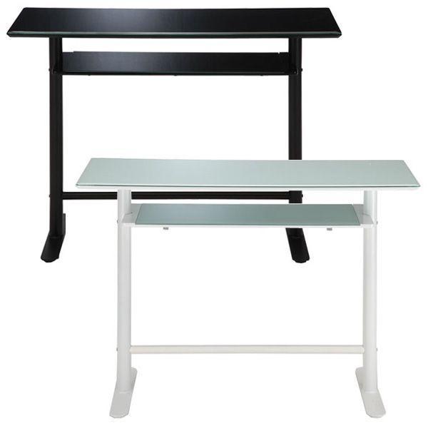 代引き不可商品 【送料無料】幅120cmの安全を考えたガラス天板 カウンターテーブルハイテーブル バーテーブル GCT-2511-2519
