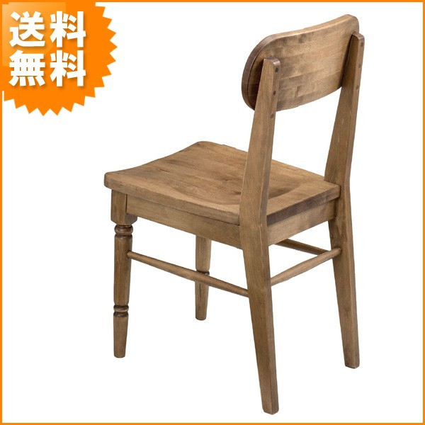 送料無料 優しい味わいの木製チェア お洒落 アンティーク デザイン 椅子 アイビー4451 ( チェアー 木製 イス 可愛い ) 新生活