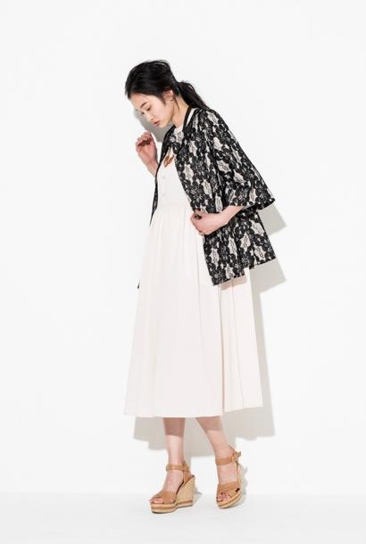 L'HOTELレースショートジャケット【40%オフセール】[送料無料]