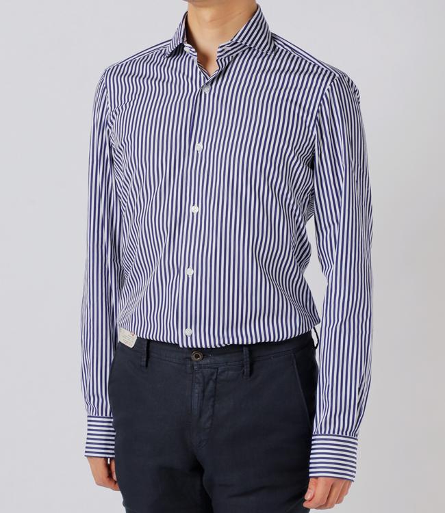バルバ/BARBA シャツ メンズ DANDYLIFE カッタウェイシャツ 2019年春夏新作 LIU136-5732