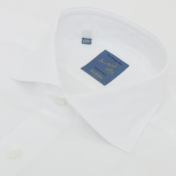 バルバ/BARBA シャツ メンズ DANDYLIFE コットンシャツ ホワイト 2019年春夏 LIU136-PZ50-09UWHI