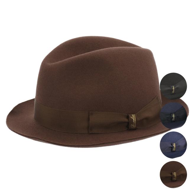 ボルサリーノ/BORSALINO 帽子 メンズ TRILBY ハット 2018年秋冬 160222-0222