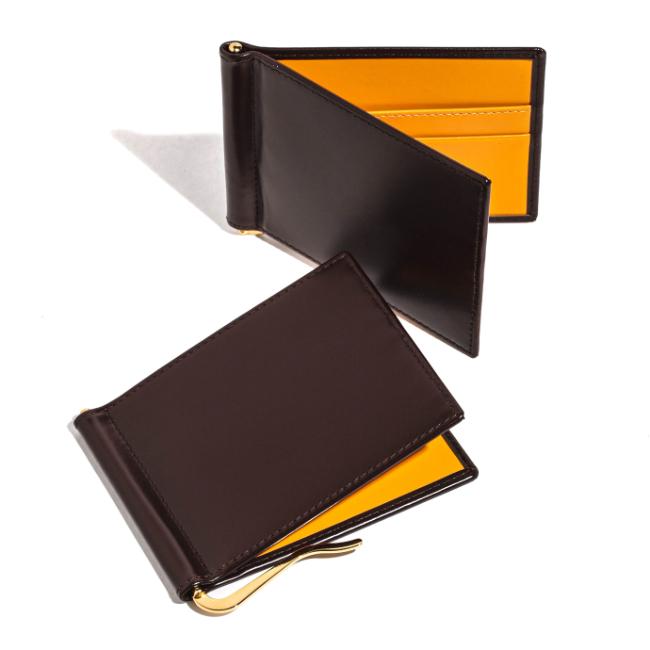 エッティンガー/ETTINGER 財布 メンズ Bridle Hide 2つ折り財布 ブラウン BH787AJR-0001-0003