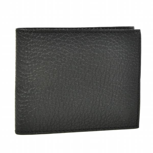 フェリージ/FELISI 財布 メンズ カーフスキン 2つ折り財布 ブラック 2018年春夏 952-LD-LD0001