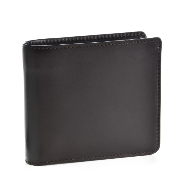 グレンロイヤル/GLENROYAL 財布 メンズ ブライドルレザー 2つ折り財布 ダークブラウン 034128-0001-0001