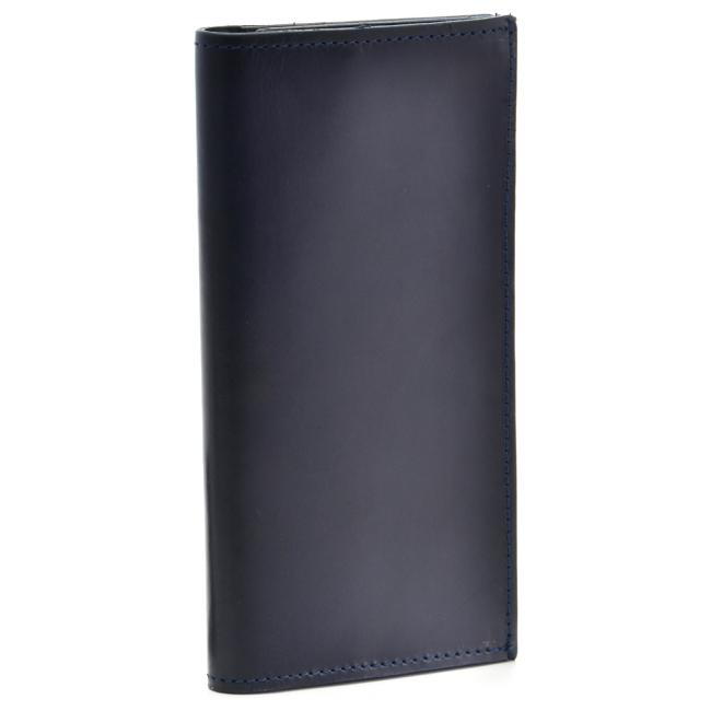 グレンロイヤル/GLENROYAL 財布 メンズ ブライドルレザー 2つ折り長財布 ネイビー 035604-0001-0003