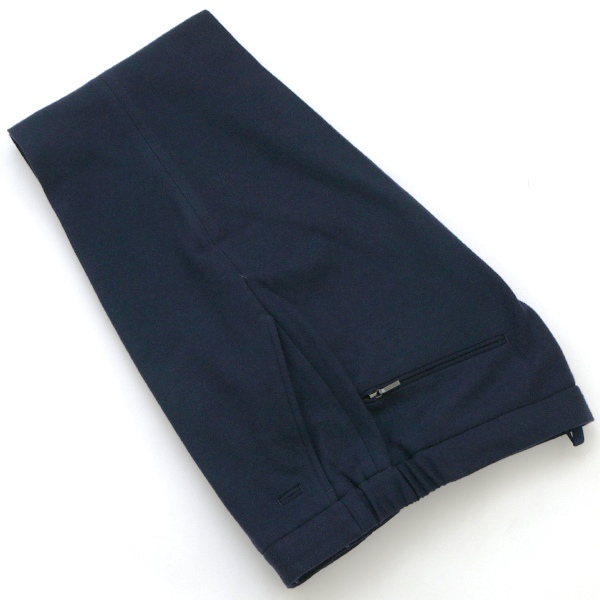 【アウトレットセール】インコテックス/INCOTEX パンツ メンズ SLIM FIT ウールジョガーパンツ ネイビー 1AG033-40234-820