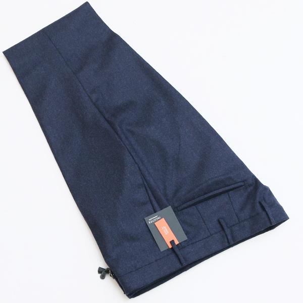 【アウトレットセール】インコテックス/INCOTEX パンツ メンズ SKIN FIT ウールスラックス ネイビー 1AT082-1721E-825