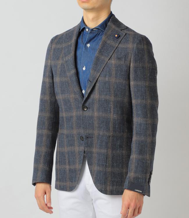 ラルディーニ/LARDINI ジャケット メンズ SPECIAL テーラードジャケット 2019年春夏新作 ウール×コットン×リネン EG0526AV-52594
