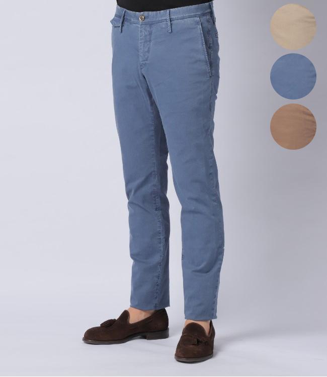 ピーティーゼロウーノ/PT01 パンツ メンズ WORN OUT ELEGANCE SUPER SLIM スリムフィットパンツ 2019年春夏新作 CODTTM-NU01