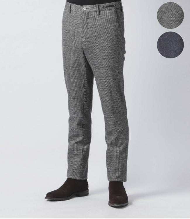 【SALE】ピーティーゼロウーノ/PT01 パンツ メンズ TRAVEL&RELAX SLIM ドローストリングスリムパンツ 秋冬 COVSJG-IW15