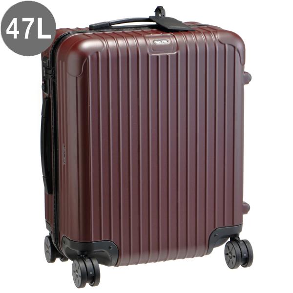 リモワ/RIMOWA キャリーバッグ メンズ SALSA 56 MW 47L スーツケース CARMONA RED MATTE 2018年秋冬 81056144-0001-0018