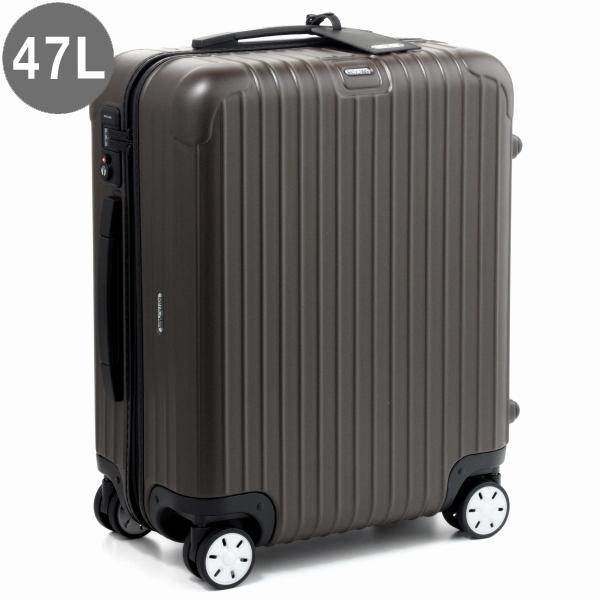リモワ/RIMOWA キャリーバッグ メンズ SALSA スーツケース 47L ブラウン 2018年春夏 81056384-0001-0020