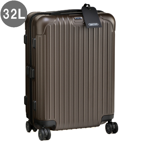 リモワ/RIMOWA バッグ メンズ SALSA 32L スーツケース/キャリーバッグ BRONZE MATTE 81152384-0001-0020