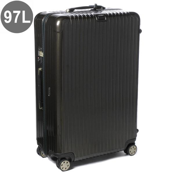 リモワ/RIMOWA キャリーバッグ メンズ SALSA DELUXE スーツケース 98L グレーブラウン 83077334-0001-0016