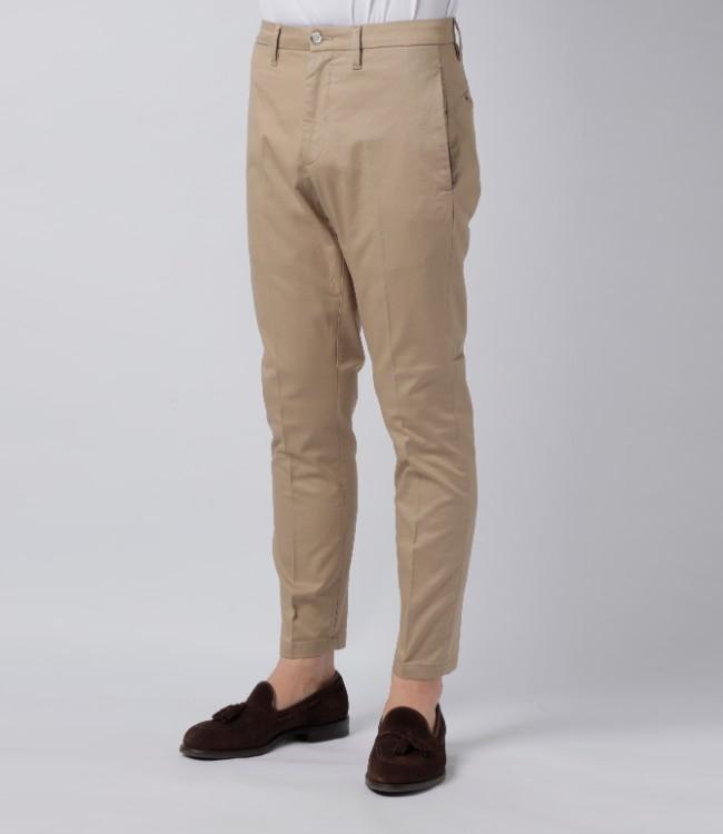 シビリア/SIVIGLIA パンツ メンズ コットンテーパードパンツ 2019年春夏新作 BAKW-S310
