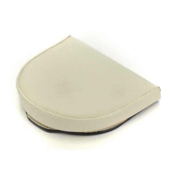 ヴァレクストラ/VALEXTRA 小銭入れ メンズ グレインレザー コインケース ホワイト V0L89-028-000W