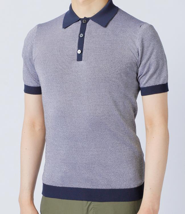 ザノーネ/ZANONE シャツ メンズ ニットポロシャツ 2019年春夏新作 81M023-Z2852