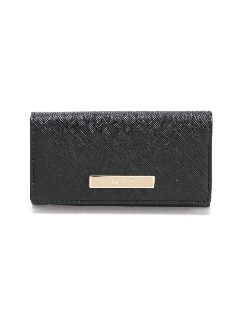 agnes b. レディース 財布 小物 アニエスベー 売れ筋ランキング VOYAGE W Rakuten Fashion ブラック 送料無料 ベージュ 即納最大半額 キーケース ネイビー QAW05-07キーケース
