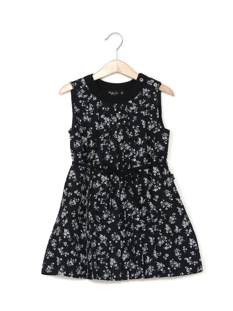 <title>agnes b. キッズ ワンピース アニエスベー [再販ご予約限定送料無料] ENFANT Rakuten Fashion SALE 50%OFF K IBU1 ドレス キッズワンピース ブラック ホワイト RBA_E 送料無料</title>
