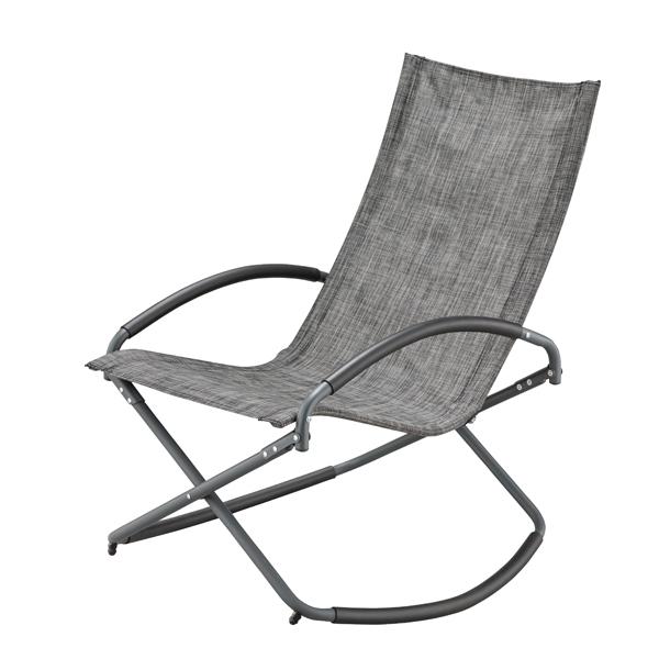 折りたたみ式 ロッキングチェア rkc-191DGY ダークグレー 木製 ロッキンチェアー 揺り椅子 ベランダ アウトドア キャンプ用 カフェ グランピング リラックス ガーデン バルコニー フォールディング ビーチ アームチェア ハイバックチェア