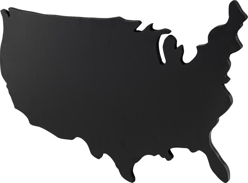 ブラックボード USA L 120cm幅 アメリカ 国土 黒板 LFS-594 おしゃれ インテリア 家具 新生活 一人暮らし アンティーク ビンテージ カフェ