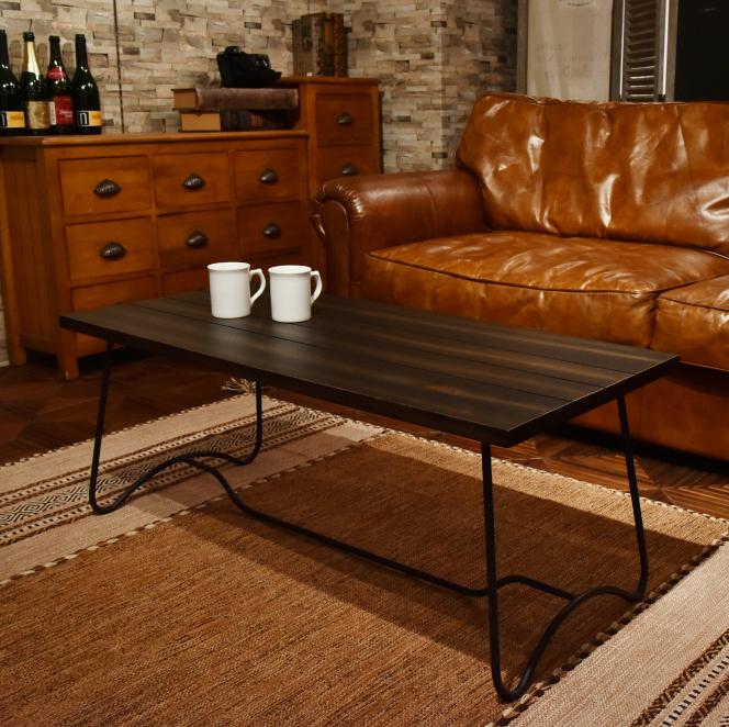 コーヒーテーブル nw-111dbr センターテーブル 机 リビングテーブル ローテーブル アメリカン 北欧 ビンテージ アンティーク 天然木 コーヒーテーブル ナチュラル カフェテーブル ソファ 木製 お洒落 西海岸 おしゃれ インテリア 家具 新生活 一人暮らし
