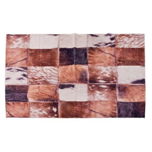 ラグ 130×180cm ハラコ パッチワーク RG-13 ラグジュアリー 1.5帖 1.5畳 革 継ぎ接ぎ ツギハギ ラグマット ラグカーペット マット カーペット 北欧 アジアン 西海岸 センターラグ 柄 絨毯 じゅうたん キッチン リビング 寝室 子供部屋 玄関 ホットカーペット 毛皮