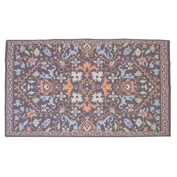 ラグ TTR-169A アンティークキリム調 W170×D230 長方形 角型 四角 おしゃれ カーペット マット 敷物 3帖 3畳アジアン インド