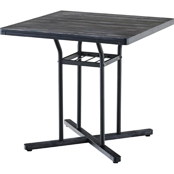 カフェテーブル END-226BK W75×D75×H70.5