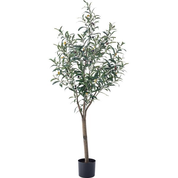 フェイクグリーン オリーブ GRN-17 人工 観葉植物 造花 観葉樹 リアル 約W44×D44×H152