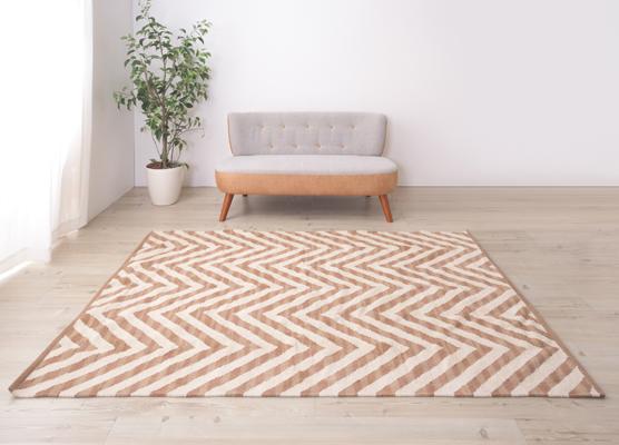 幾何学模様 ラグ 長方形 天然コットン100% W130×D190cm TTR-170C ホットカーペット対応 ラグマット ラグカーペット マット カーペット 北欧 アジアン 西海岸 センターラグ キリム 柄 絨毯 じゅうたん リビング 寝室 子供部屋 玄関