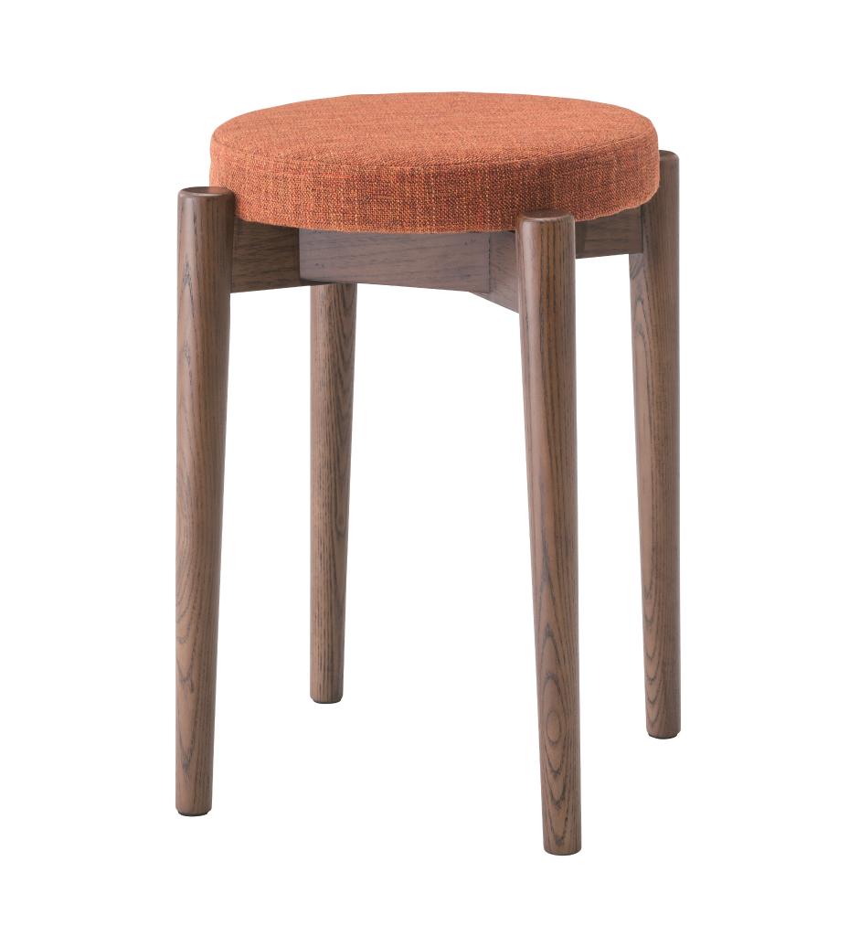 スタッキングスツール cl-782cbr チェア イス 椅子 いす 食卓 ダイニング イームズ おしゃれ ダイニングチェアー チェアー ミッドセンチュリー モダン カフェ風 完成品 北欧ダイニングチェア イームズチェア デザイナーズ カウンター 腰掛け 玄関 ステップ台