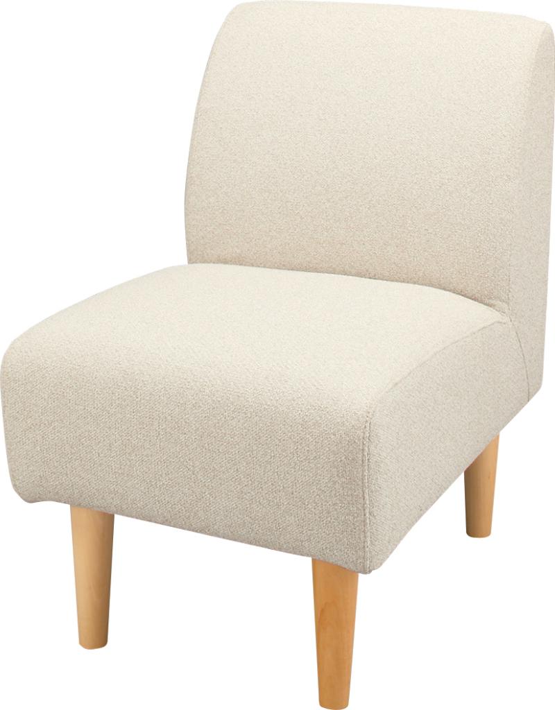 デリカ 1人掛 gs-334iv ソファ 一人用 ソファー 一人掛け パーソナル チェア イス 椅子 いす チェアー フロア リビング アメリカン 北欧 ビンテージ アンティーク ナチュラル 応接室 1人掛け おしゃれ インテリア 家具 新生活 一人暮らし