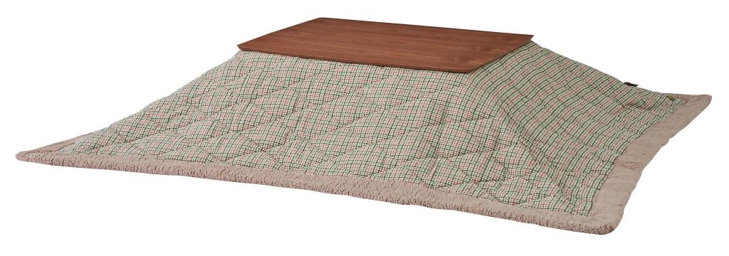 薄掛け こたつ布団  長方形 kk-128 190×230cm 天板サイズ120×80以下 薄掛コタツ布団 楕円形 対応 掛ふとん 上掛け こたつ コタツ 炬燵