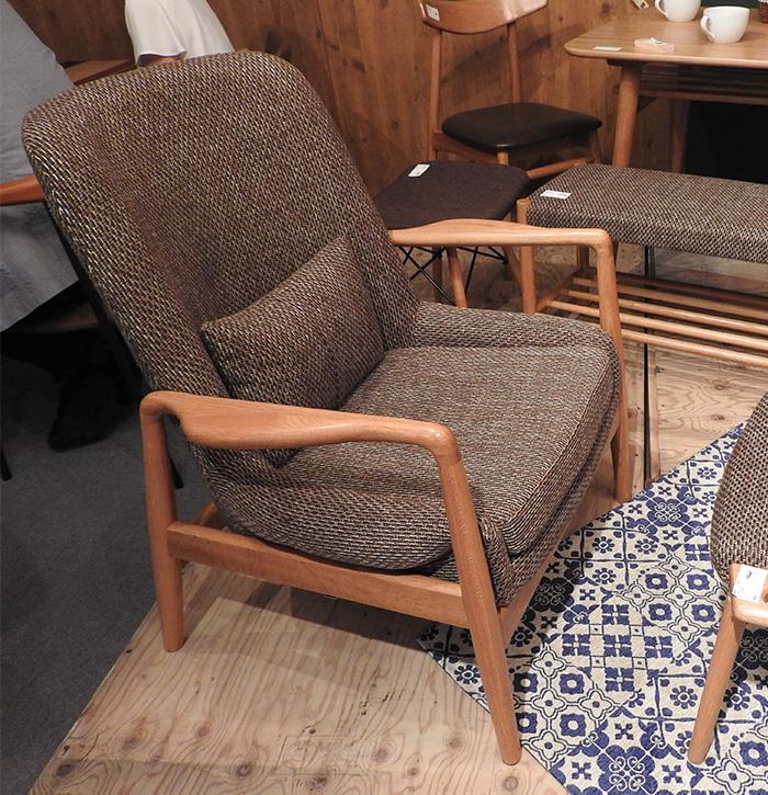 フリック 1人掛 rto-51azm 一人掛け ソファ チェア 椅子 イス パーソナル 座椅子 リビング おしゃれ インテリア 家具 新生活 一人暮らし
