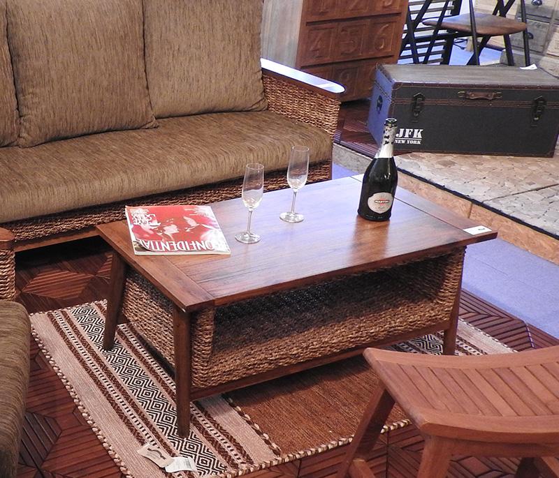 コーヒーテーブル nrs-454azm アバカ マニラ麻 い草 ラタン 机 センターテーブル 机 リビングテーブル ローテーブル アメリカン 北欧 ビンテージ アンティーク 天然木 コーヒーテーブル ナチュラル カフェテーブル ソファ 木製 おしゃれ インテリア 家具 新生活 一人暮らし