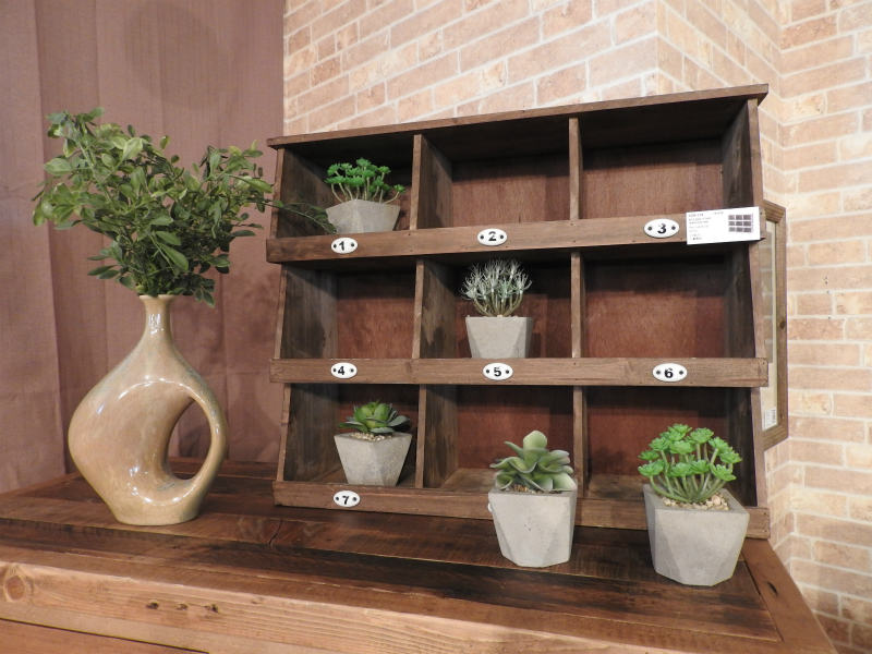 Wheel rack ccr-119 tree cedar flowerpot entrance Wood wooden stylish  miscellaneous goods North European American West Coast stylish interior  furniture