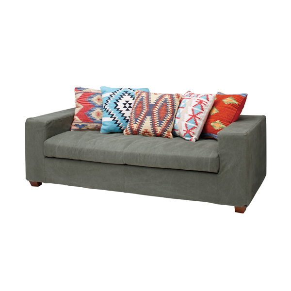 Take Three Jacquard Sofa Cl 192 Wide With Five Points Of Indian Cotton Cushions And Hang Two Low Sofas Horse Mackerel Ann American North Europe