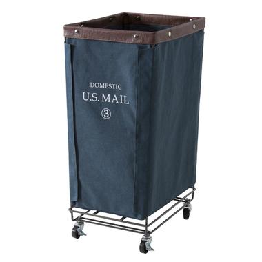 Military box basket basket U S MAIL laundry box washing basket accessory  case toy box storing antique vintage stylish interior furniture new life
