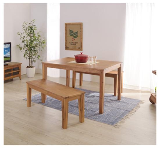 アルンダ ダイニングテーブル NX-712 幅120cm 高さ72cm テーブル リビング 食卓 ウッド 机 アメリカン 北欧 ビンテージ アンティーク 天然木 ナチュラル 木製 ヴィンテージ おしゃれ インテリア 家具 新生活 一人暮らし