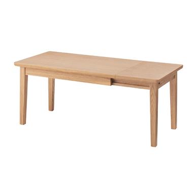 エクステンション センターテーブル nyt-763na センターテーブル 机 リビングテーブル ローテーブル アメリカン 北欧 ビンテージ アンティーク 天然木 コーヒーテーブル ナチュラル カフェテーブル ソファ 木製 おしゃれ インテリア 家具 新生活 一人暮らし